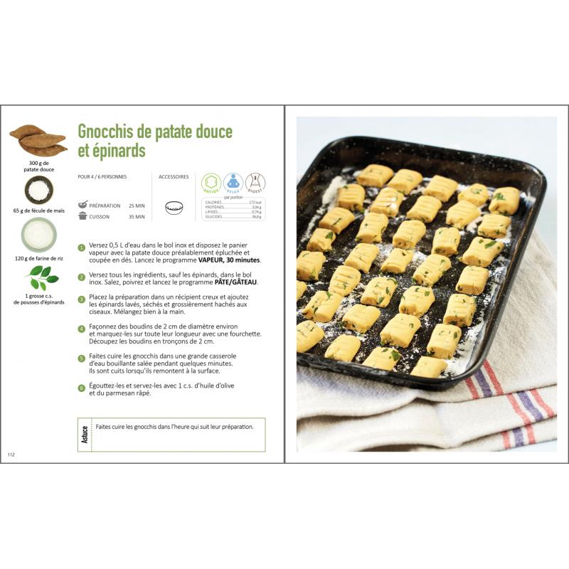 Livre 70 Recettes Vegetariennes Avec Le Cook Expert Boutique